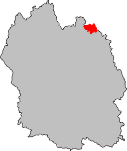 Carte Saint-Bonnet-Laval